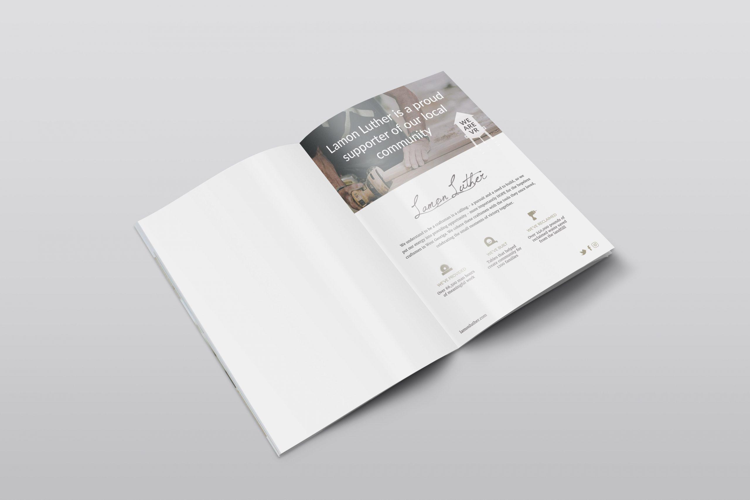 Lamon Luther Magazine Ad