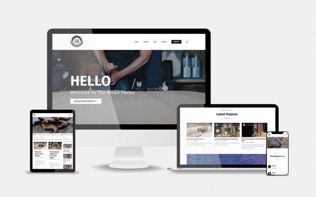 The Wood Pastor Website 2019