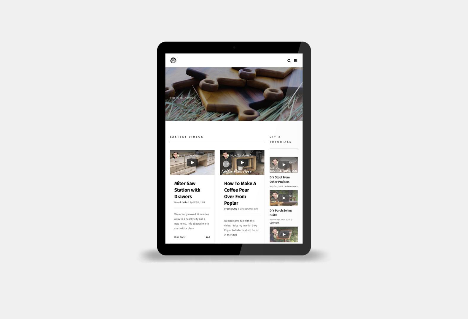 The Wood Pastor 2020 Website