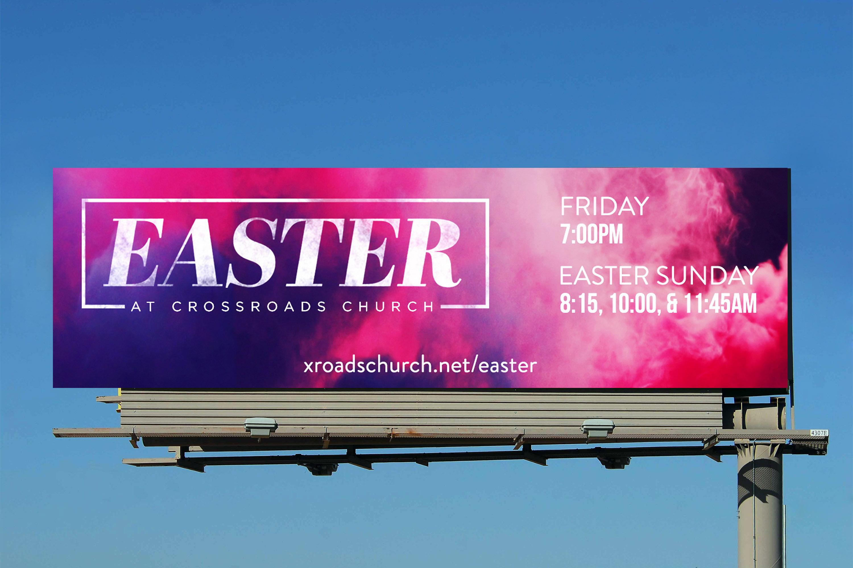 Crossroads Church Billboard