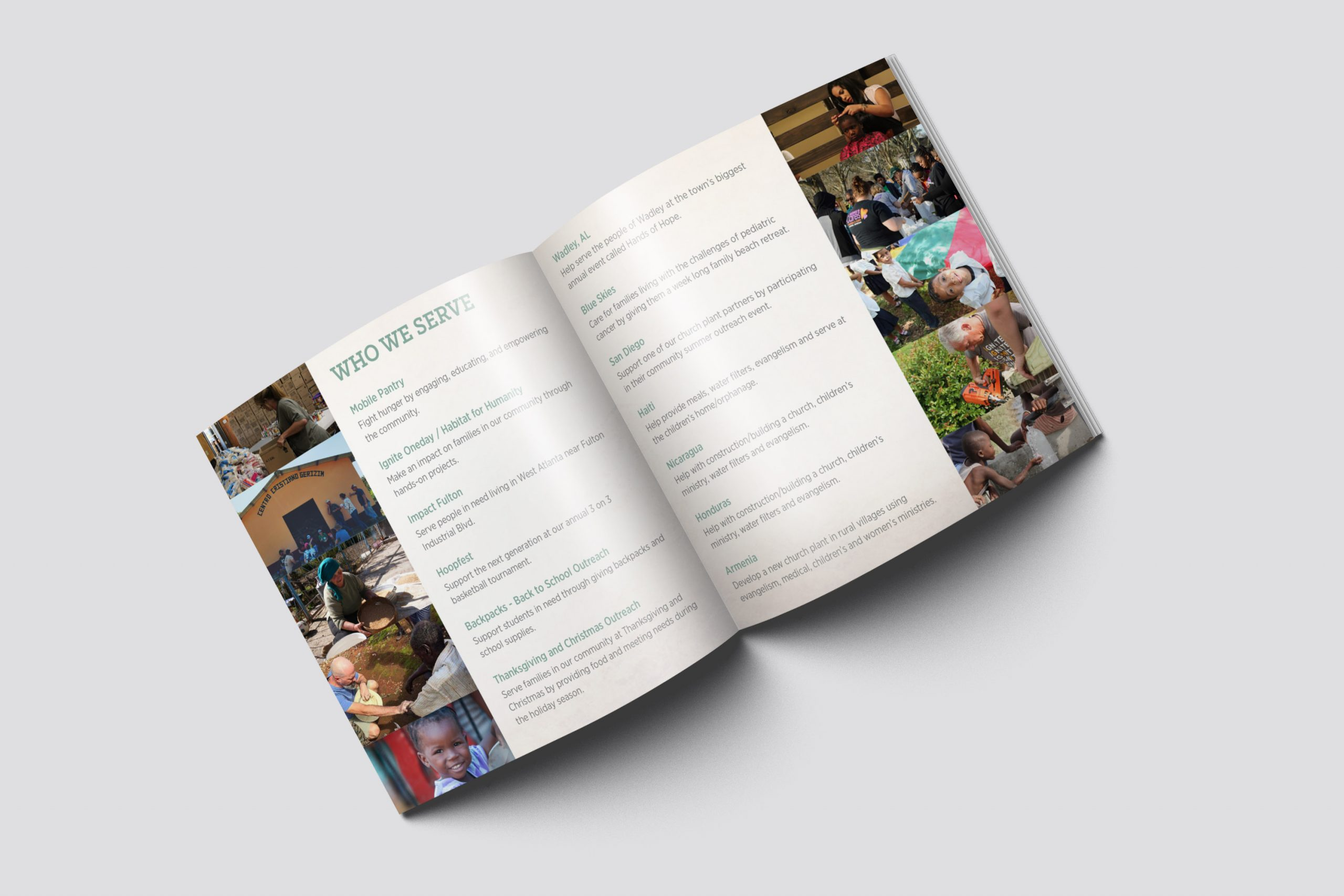 Crossroads Church Brochure