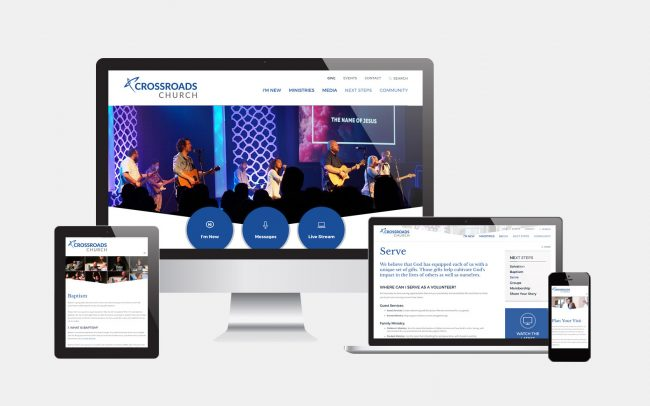 Crossroads Church Website