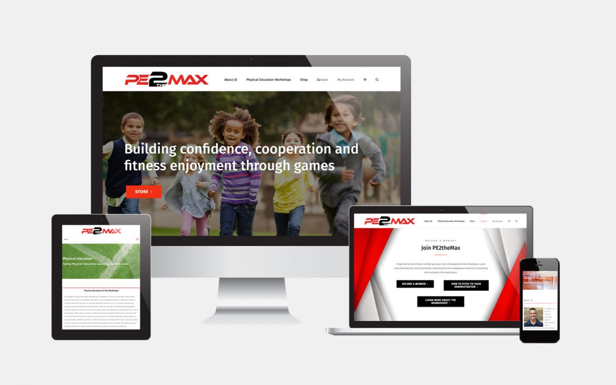 PE2theMax Website