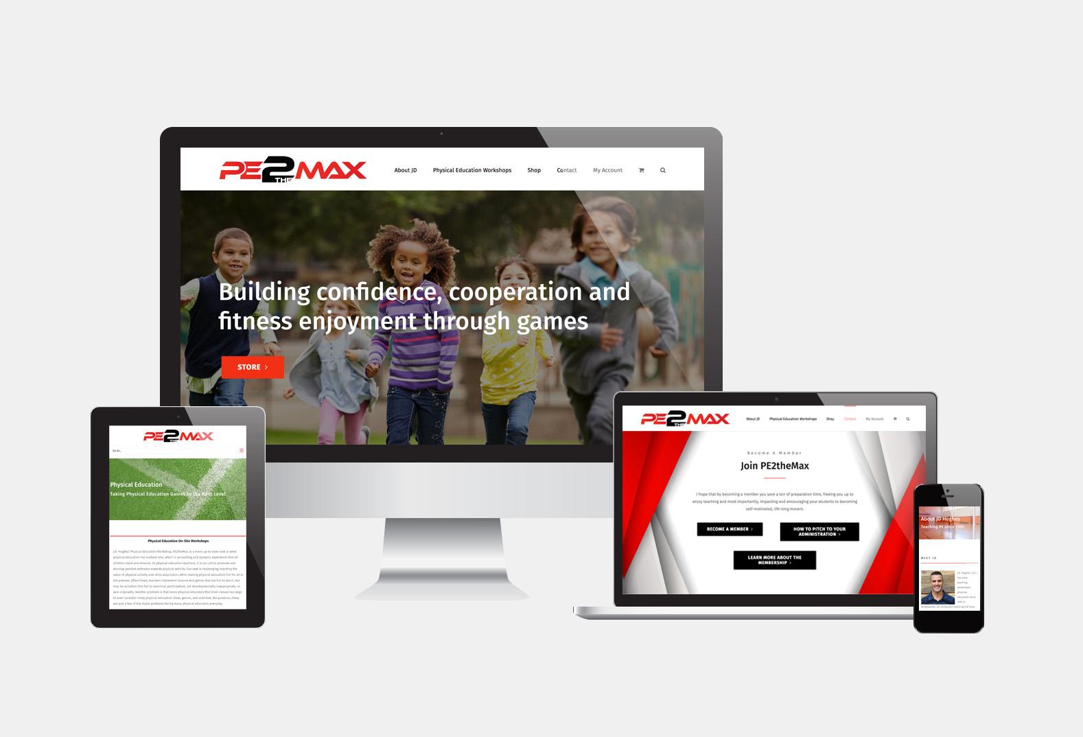 PE2theMax Website