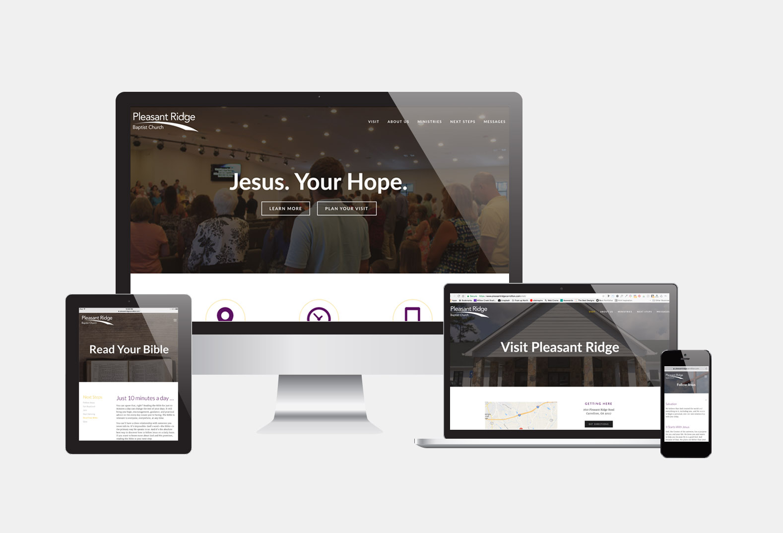 Pleasant Ridge Baptist Church Website